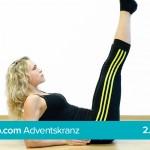 Entspannung & innere Balance mit Yoga – Die Kerze Teil 1