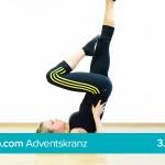 Mit Yoga zu mehr Ausgeglichenheit – Die Kerze Teil 2