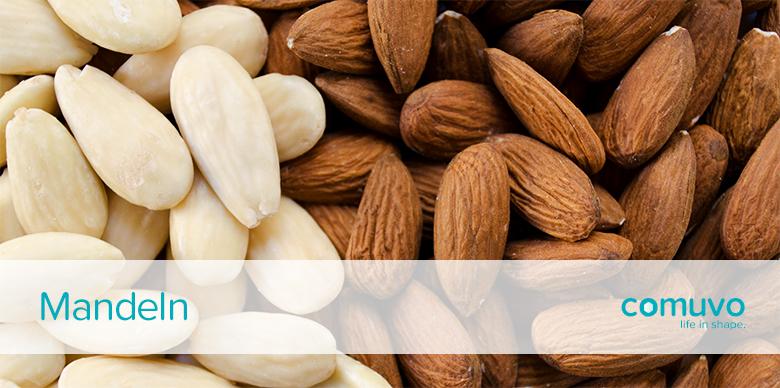 comuvo Nüsse, Kerne, Samen – Mandeln
