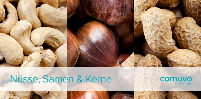Powerfood: Nüsse, Samen & Kerne Teil 3 – Cashewkerne, Maronen, Erdnüsse