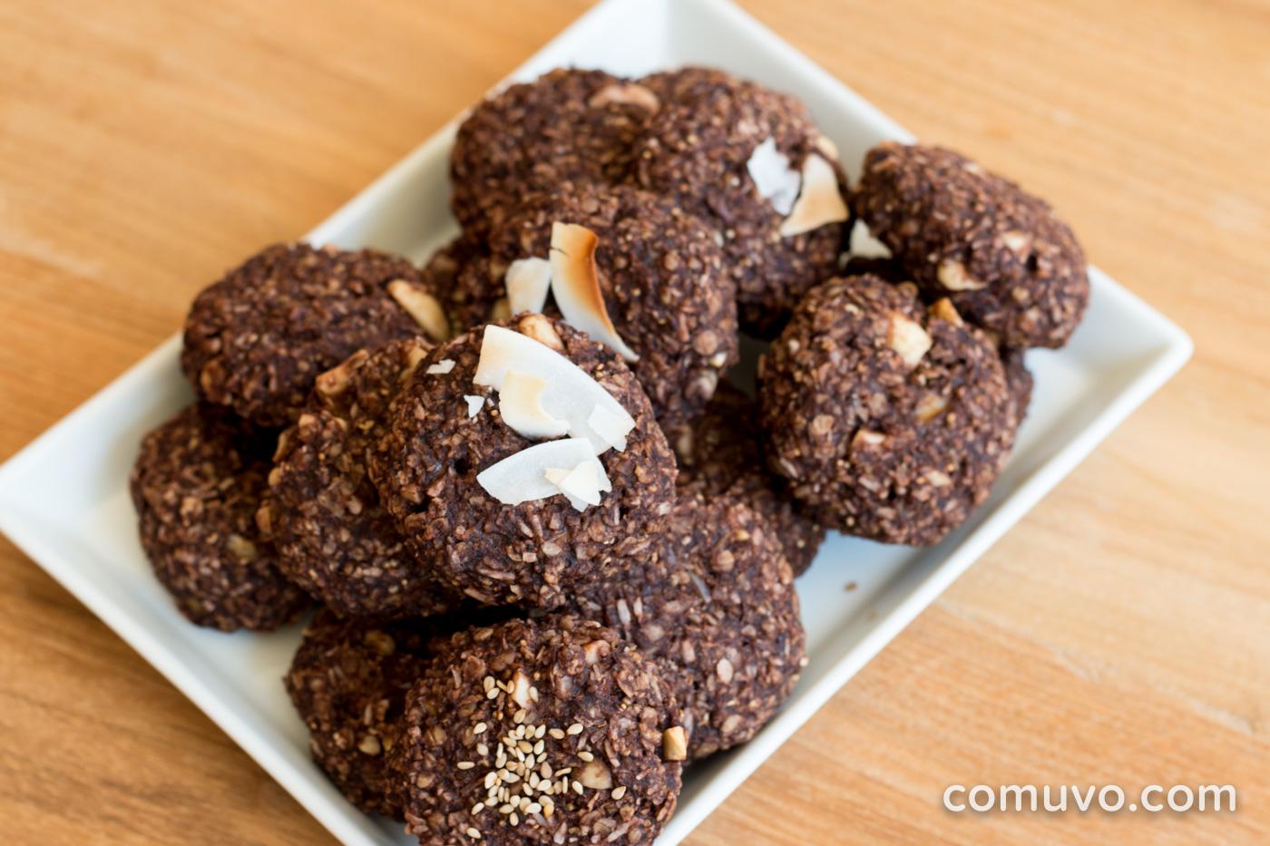 Vegane Kekse ohne Zucker |comuvo