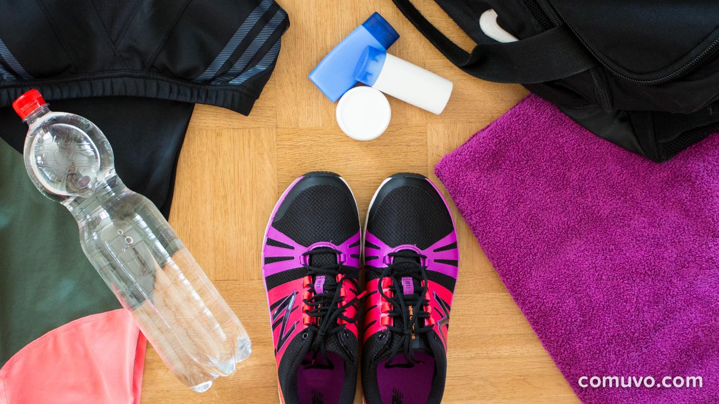 Die perfekt gepackte Sporttasche | comuvo