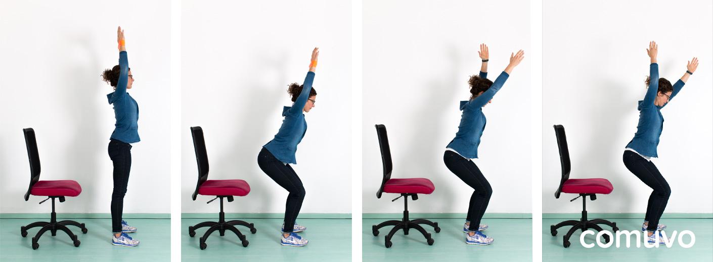 Schreibtisch-Workout Teil 2 – Starker Rücken | comuvo