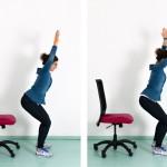 Starker Rücken trotz Bürostress? Schreibtisch-Workout Teil 2