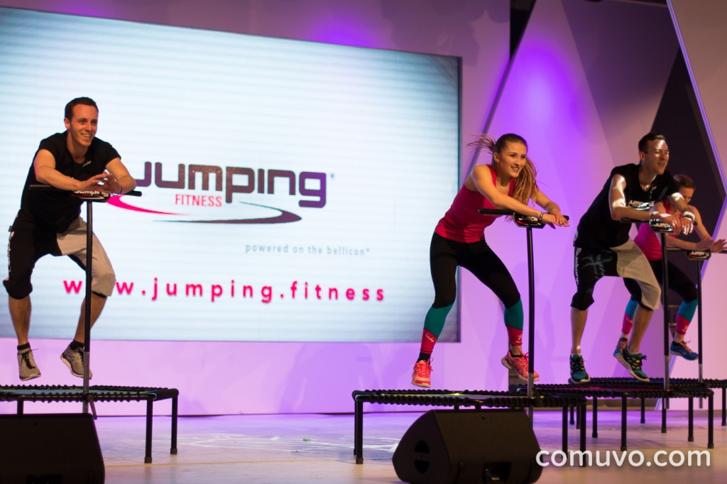 Trendradar: Die 10 hottesten Group Fitness Formate der FIBO 2016 | Jumping Fitness