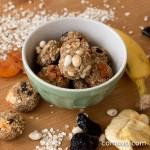 Kleine Kraftpakete: Vegane Haferkekse ohne Zucker