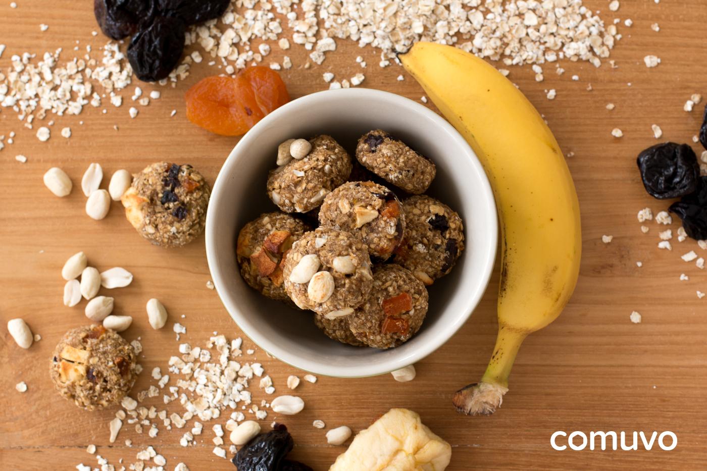 Rezept für vegane Haferkekse ohne Zucker | comuvo Blog