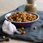 Geröstete Curry Kichererbsen – Ein herzhafter und gesunder Snacks ohne schlechtes Gewissen