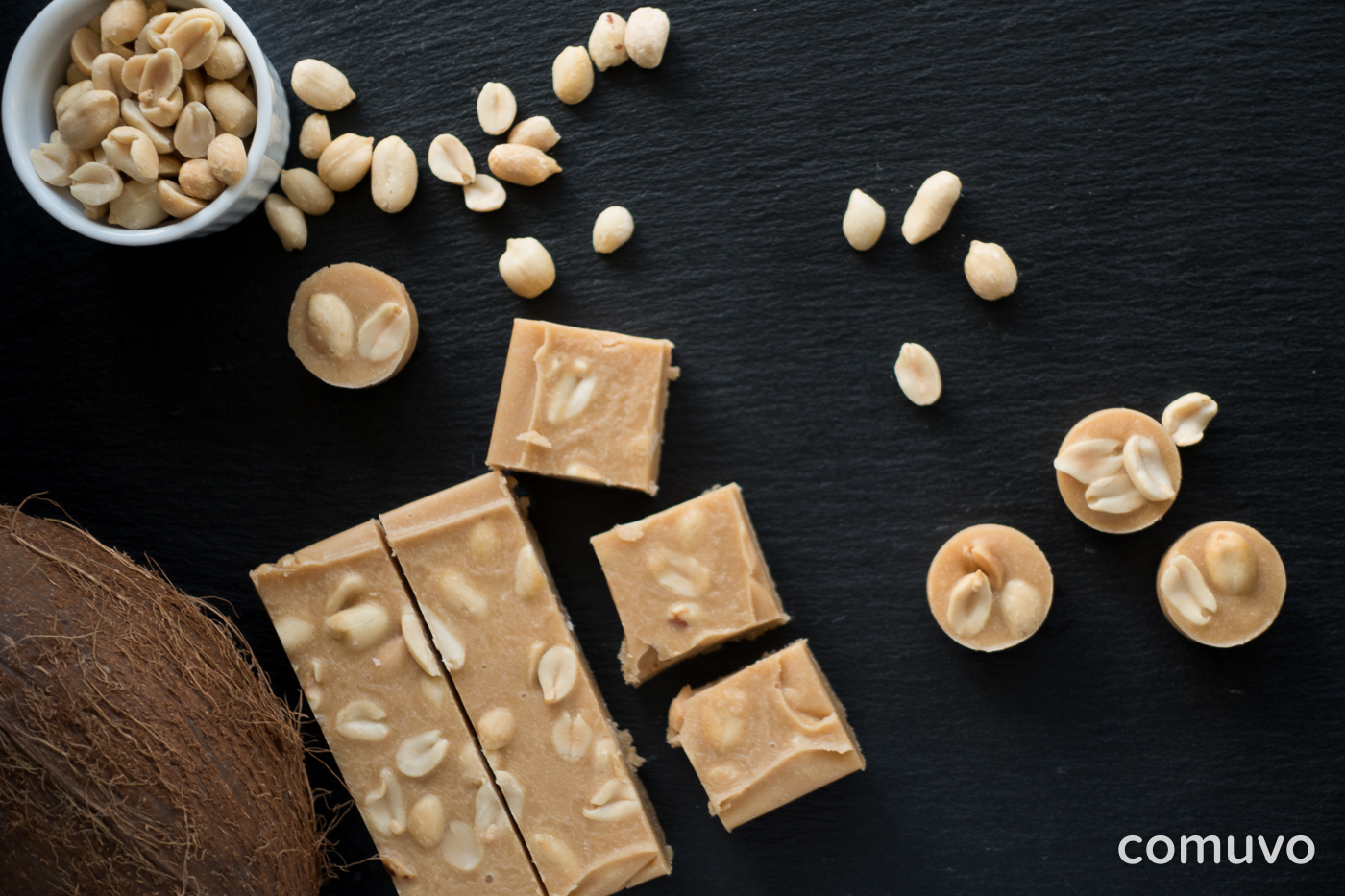Clean Eating Peanut Butter Fudge | comuvo Blog