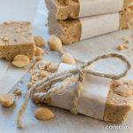 No Bake Erdnuss Proteinriegel zum Selbermachen