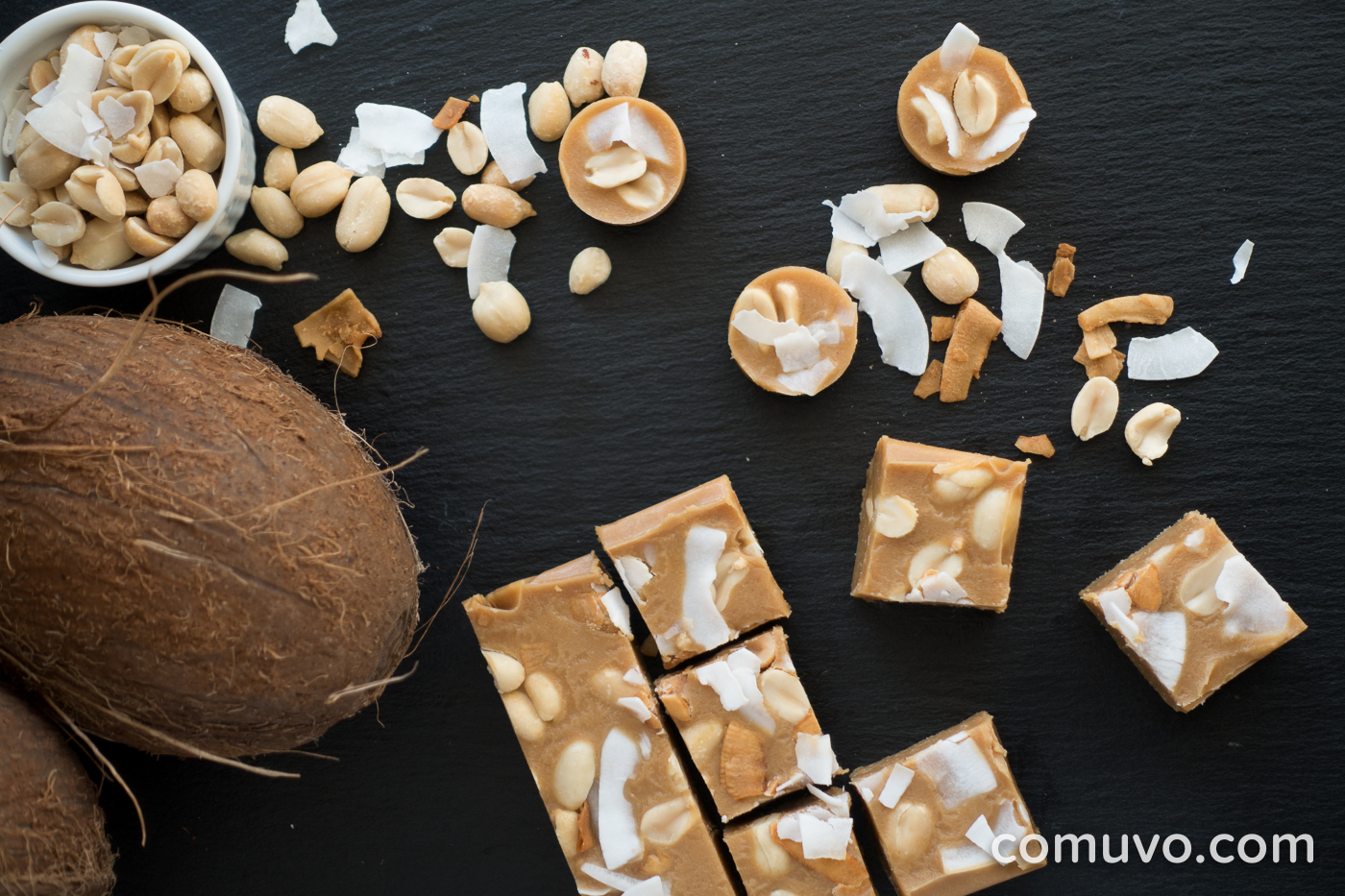 Peanut-Butter-Kokos-Fudge | comuvo Blog